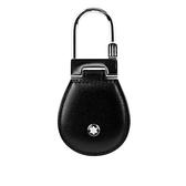 【MONT BLANC】大班系列粒面牛皮鑰匙扣(黑色) 14085