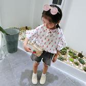 【618】好康鉅惠童裝兒童短袖T恤夏季女童洋氣寶寶短袖體恤