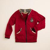 【金安德森】PIMA格紋配色棉外套-紅色