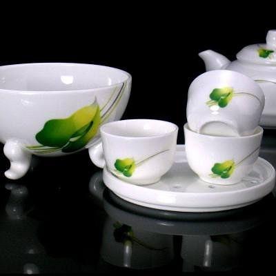 【一套】四合一陶瓷整套茶壺茶杯