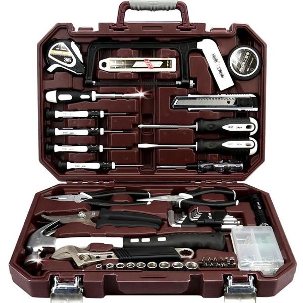 工具箱套裝家用五金電工維修理