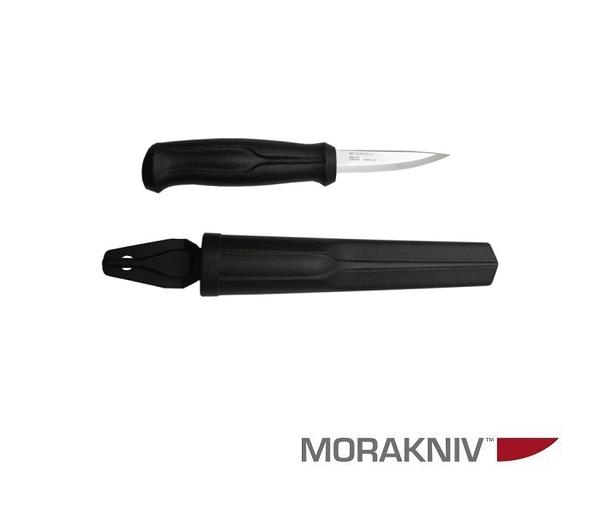丹大戶外用品【MORAKNIV】瑞典 WOOD CARVING BASIC 不鏽鋼木雕刀 黑 12658