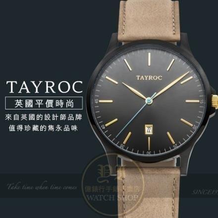 【南紡購物中心】Tayroc英國設計師品牌紳士簡約腕錶TXM099公司貨/風靡全球/平價時尚
