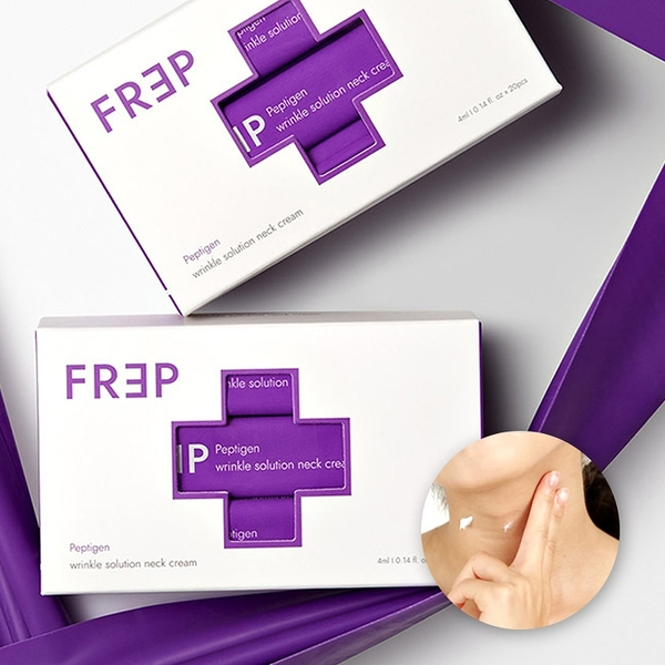 [時時樂]韓國 FREP 胜肽膠原頸霜(4mlx20入)盒裝【小三美日】