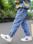 牛仔褲 男童牛仔褲韓版潮寶寶秋裝小童長褲秋季童裝兒童褲子【小天使】