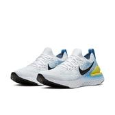 【六折特賣】Nike 慢跑鞋 Wmns Epic React Flyknit 2 白 藍 女鞋 運動鞋 【PUMP306】 BQ8927-106