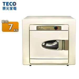 TECO東元 7公斤不鏽鋼乾衣機 QD7551NA~含基本安裝