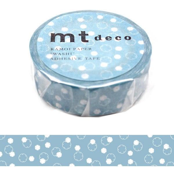 日本mt deco Masking Tape 和紙膠帶 勿忘草 15mm
