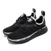 adiidas 休閒鞋 NMD_R1 黑 白 男鞋 女鞋 Boost 中底設計 運動鞋 襪套式 【ACS】 FV7307