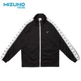 MIZUNO 男裝 外套 立領 1906系列 套裝 針織 休閒 側邊LOGO 黑【運動世界】D2TC903109