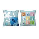 限量版水滴寶 針織滌綸布抱枕(45cm x 45cm) 台灣製