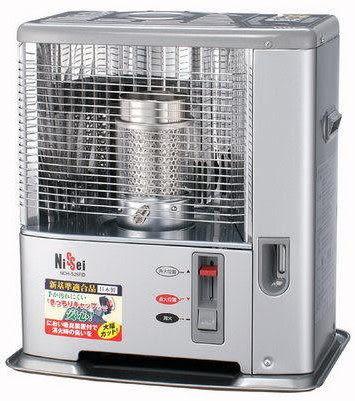 日本 Nissei 7-10坪 經典煤油暖爐 NCH-S261RD
