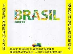 二手書博民逛書店罕見BRASIL巴西旅遊指南Y167411