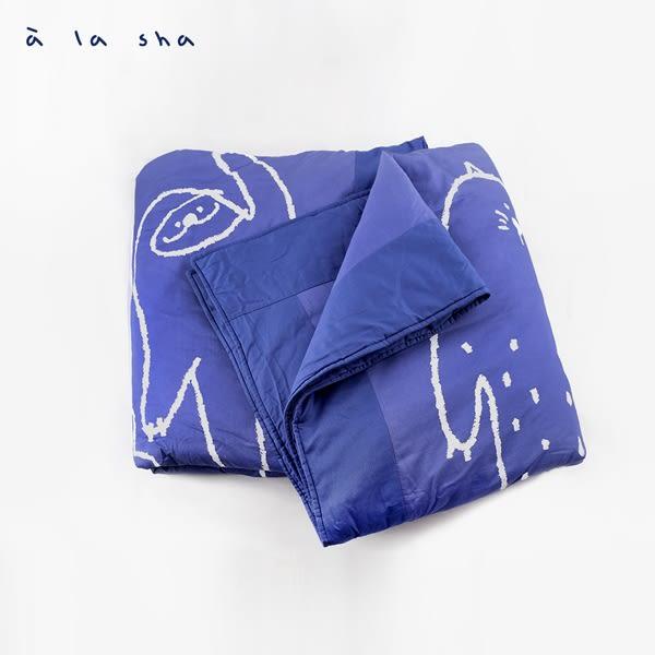a la sha 當季魅力↘手牽手雙人鋪棉兩用被套