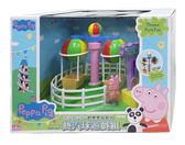 【Peppa Pig】粉紅豬小妹 歡樂樂園系列 熱氣球遊戲組[衛立兒生活館]