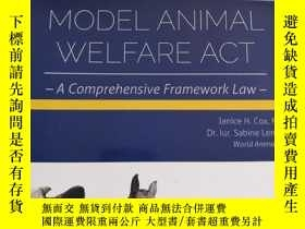 二手書博民逛書店MODEL罕見ANIMAL WELFARE ACT(動物福利師範