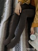 靴下物280D閃電高彈棉束腹連褲襪女細條紋秋冬季中厚款微壓美腿襪 東京衣秀