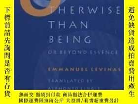 二手書博民逛書店Otherwise罕見Than Being, Or, Beyond Essence-除了存在,或者,超越本質Y