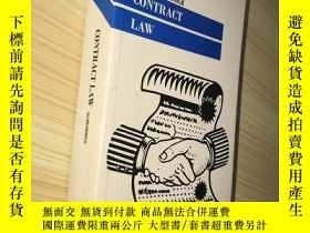 二手書博民逛書店Contract罕見Law (Palgrave Law Mast