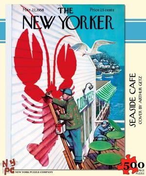 【KANGA GAMES】拼圖 海濱咖啡館 The New Yorker - Seaside Cafe  500片