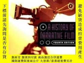 二手書博民逛書店A罕見History Of Narrative FilmY256260 David A. Cock W. W.