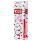 《Sanrio》HELLO KITTY*PLUS Twiggy極細攜帶式筆型剪刀(點點蘋果)★funbox生活用品★_429767