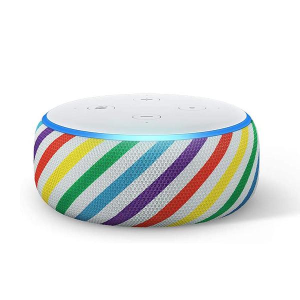 [9美國直購] 智能揚聲器 Echo Dot (3rd Gen) Kids Edition, an Echo designed for kids- Rainbow