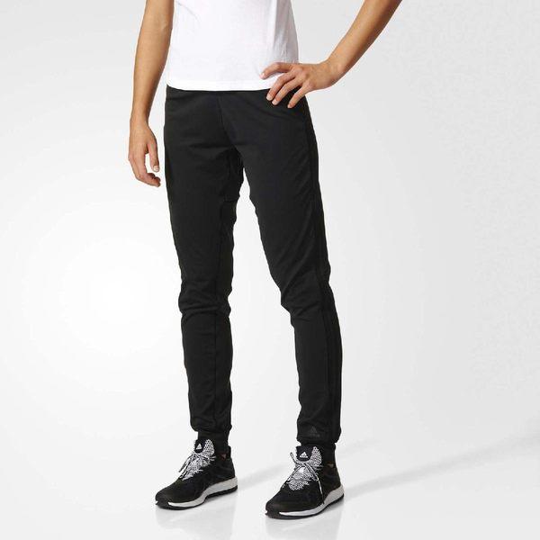 adidas 長褲 D2M Cuff Pants 3-Stripes 黑 Climalite 女款 縮口褲 【PUMP306】 BK2624