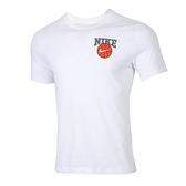 Nike AS M Dry Tee Verb Dunk ON U 男 白 籃球印花 休閒 短袖 CD1287-100