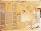 【歐雅系統家具】淺木紋書櫃 系統板材 防潮塑合板 客製化多功能
