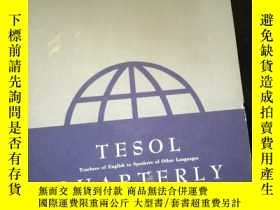 二手書博民逛書店TESOL罕見QUARTERLY Volume 14 Septemder 1980 Number 3Y1614