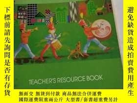 二手書博民逛書店TEACHER S罕見PESOURCE BOOK(教師用書)Y6