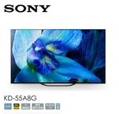 【佳麗寶】- 限大台北地區(SONY)55型日本製 4K OLED智慧連網液晶電視 KD-55A8G