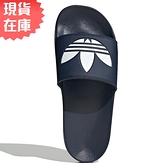 【現貨】ADIDAS ORIGINALS ADILETTE LITE 男鞋 女鞋 拖鞋 休閒 三葉草 柔軟 深藍【運動世界】FU8299