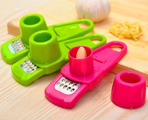 多功能磨蒜器 創意切蒜器 廚房攪蒜器 蒜泥器 廚房小工具