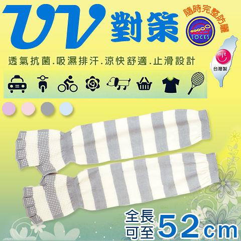 【衣襪酷】SOCKS UV對策 多功能抗UV半指防曬手袖套 防紫外線 全日完整防護《袖套/ 露指手套》