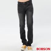 BOBSON 男款保暖低腰直筒褲(1768-87)