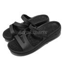 Skechers 涼拖鞋 Arch Fit Ascend-Sweet Pea 女鞋 全黑 足弓鞋墊 醫師推薦 拖鞋【ACS】 111232BBK