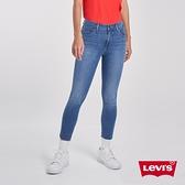 Levis 女款 Revel高腰緊身提臀牛仔褲 / 超彈力塑形布料 / 不收邊 / 天絲棉 / 及踝款