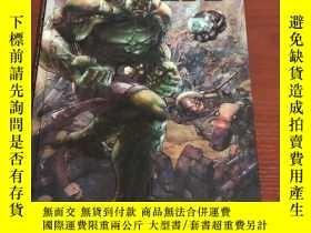二手書博民逛書店法語版漫威漫畫書綠巨人罕見indetrucible hulk1Y