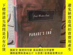二手書博民逛書店Parade s罕見end by Ford Madox Ford -- 馬多克斯 福特《隊列之末》人人文庫 布面精