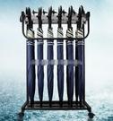 12頭帶鎖雨傘架