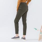 【中大尺碼】MIT口袋繡三線造型牛仔褲