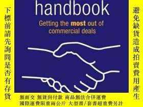 二手書博民逛書店Contract罕見Negotiation Handbook: Getting the Most Out of C