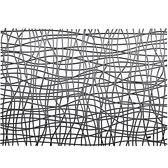 《KOZIOL》網紋硬餐墊(透灰)