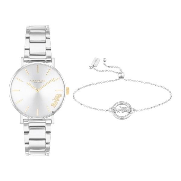 COACH 優雅甜美手鍊套錶組-28mm(CO14000064)