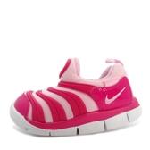 Nike Dynamo Free TD [343938-626] 小童鞋 慢跑 運動 休閒 舒適 透氣 毛毛蟲 桃紅
