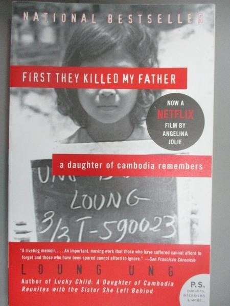【書寶二手書T9/傳記_GDM】First They Killed My Father_Ung, Loung