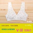 0910 草莓甜心學生內衣 短版少女成長...