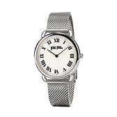 【Folli Follie】Perfect Match羅馬時尚米蘭腕錶-亮眼銀/WF16T013BPS_XX/台灣總代理公司貨享兩年保固